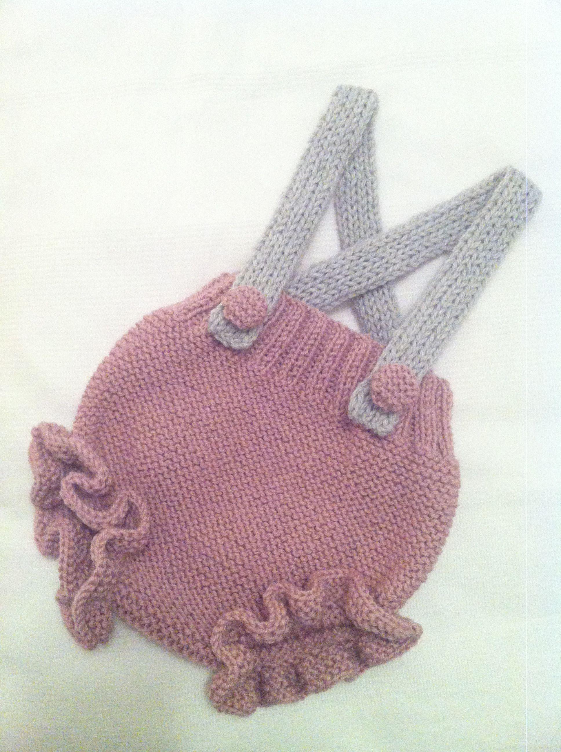 Culotte tejido a mano. Knitters!! | Knitting ranitas y peleles ...