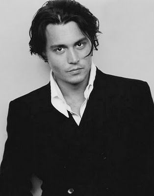 Johnny Depp took 2nd place in the Style Maniac poll.  Silver never looked so good. #JohnnyDepp #moviestars #photography
