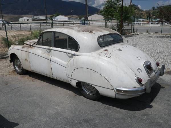 1957 Jaguar Mk8 Sports Sedan XK Motor Barn Find