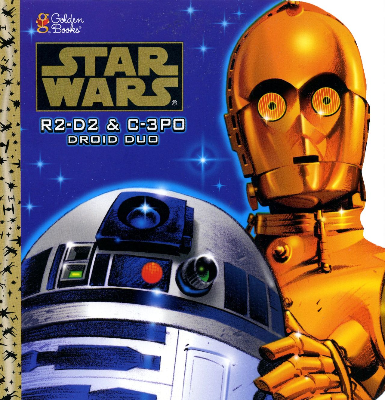 Coleccion Libros Star Wars Star Wars R2 D2 And C 3po Droid Duo Golden Books 1997
