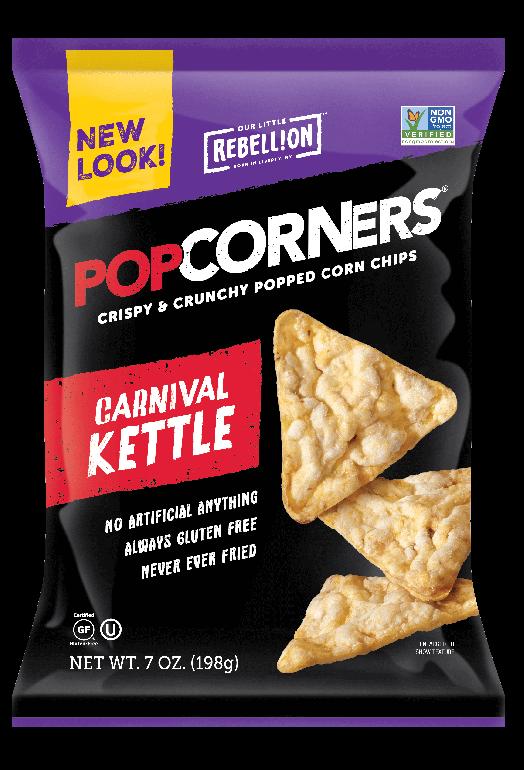 Carnival Kettle Snacks, Corn snacks, Chips