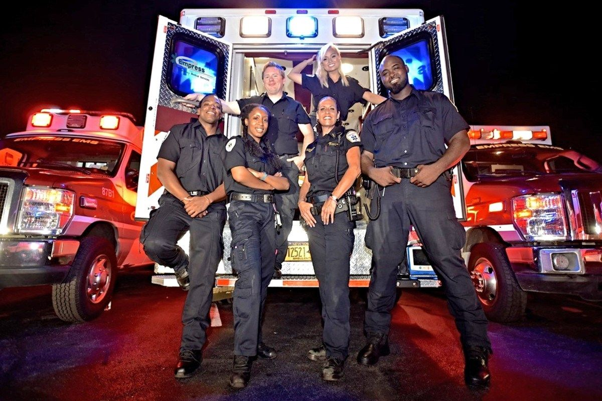 now hear this Yonkers EMTs, medics star in 'Nightwatch