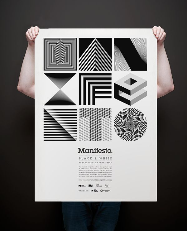 Graphic designer illustrator and photographer from melbourne australia manifesto is a black and white photographic competition for
