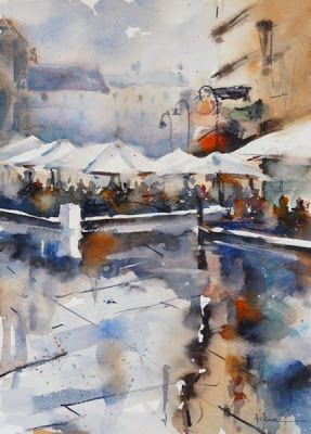 Fernando Pena - Acuarelas - Watercolors