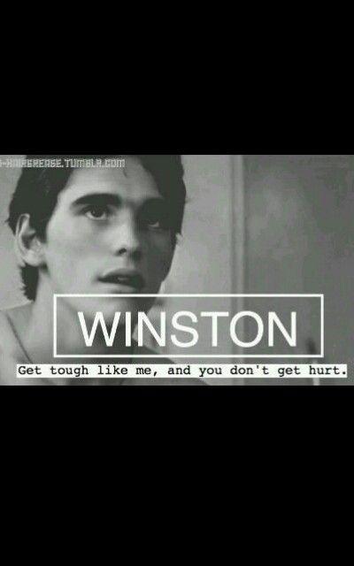 The names Winston. Dallas Winston.