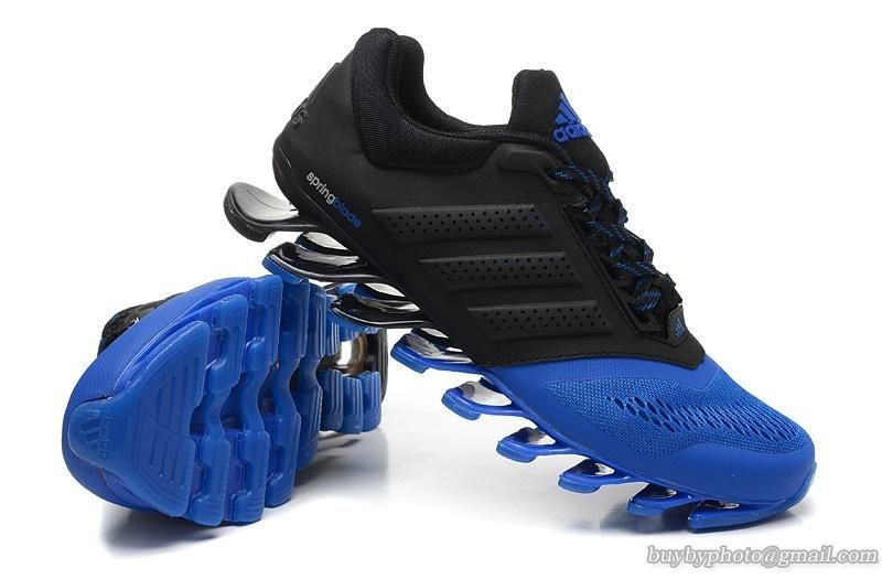 adidas springblade blue black - Adidas - Sports Shoe\u0027s - Men\u0027s - FOOTWEARz