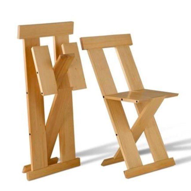 Folding chair | Lina Bo Bardi | R & Company | Muebles | Pinterest ...