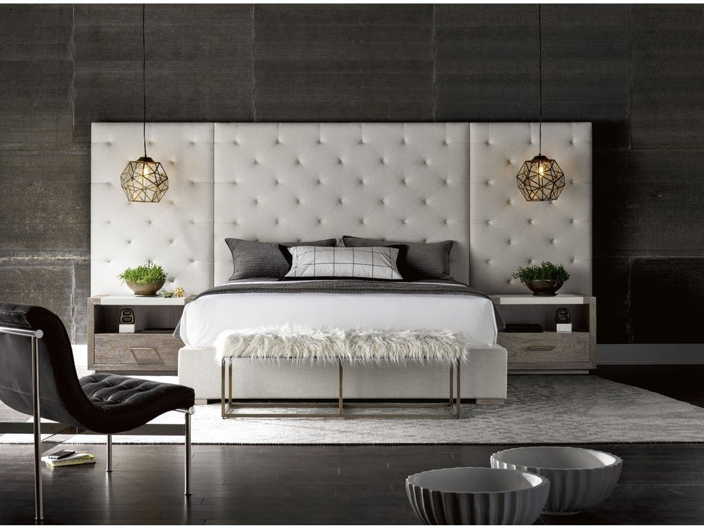 With 2 Wall Panels Extending The Headboard To A Width Of 147 The
