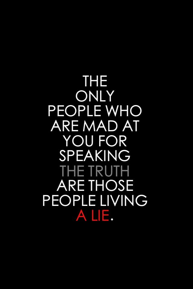 when others lie about you