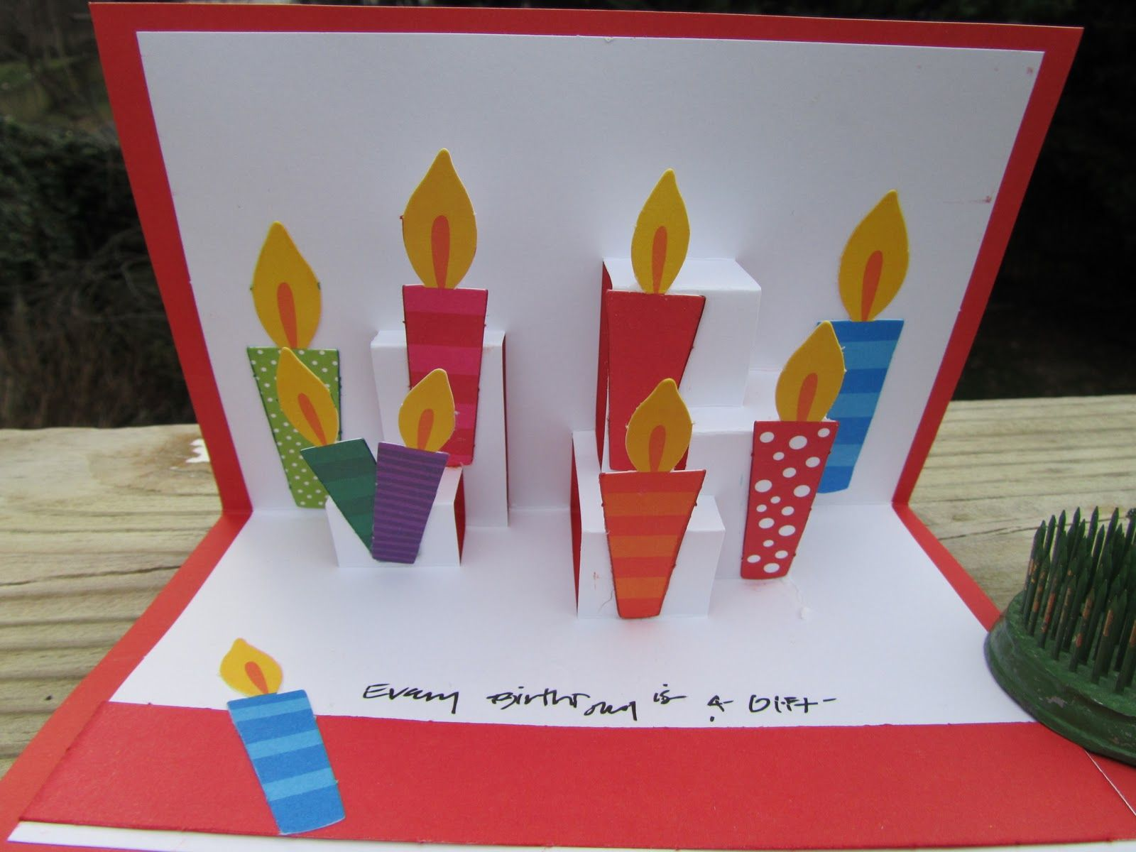 Candle birthday card in pop up style for boyfriend cards candle birthday card in pop up style for boyfriend bookmarktalkfo Gallery