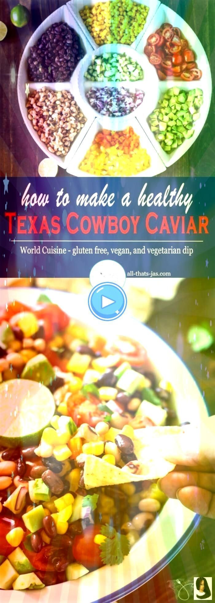 to Make a Healthy Texas Cowboy Caviar How to Make a Healthy Texas Cowboy Caviar    This gluten