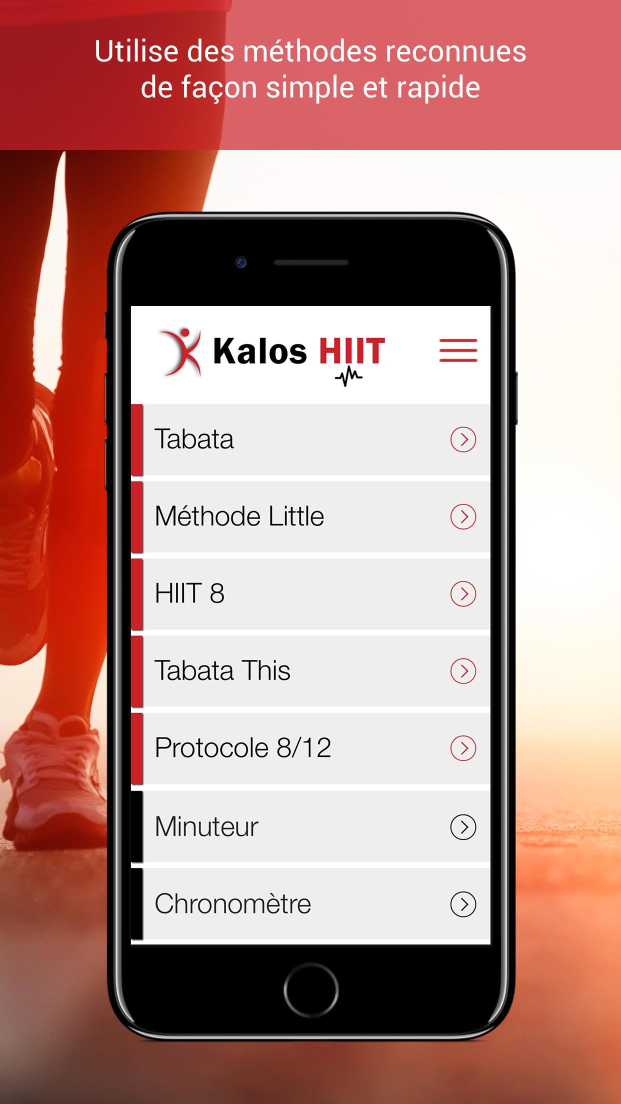 Super App pour le HIIT et la préparation à l'entraînement de type CrossFit ! Disponible en 3 langues : français, anglais, espagnol