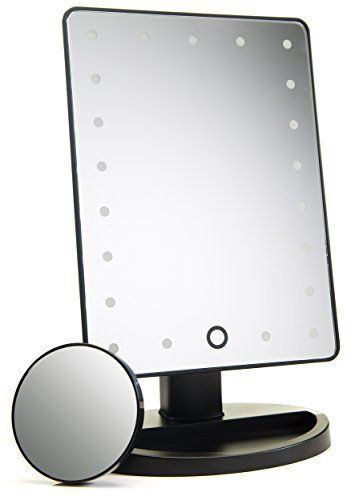 Portable Vanity Mirror With Lights New NATURAL DAYLIGHT LIGHTED MAKEUP MIRROR VANITY MIRROR Makeup