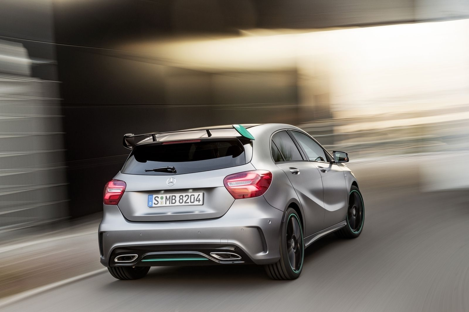 The Motorsport Edition of the new MercedesBenz A 250 Sport