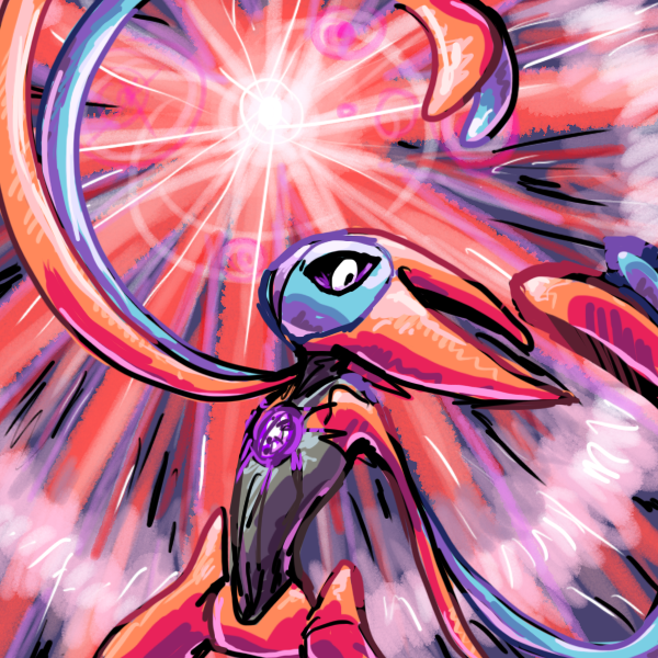 deoxys attack forme by ~Peegeray on deviantART | Deoxys ...