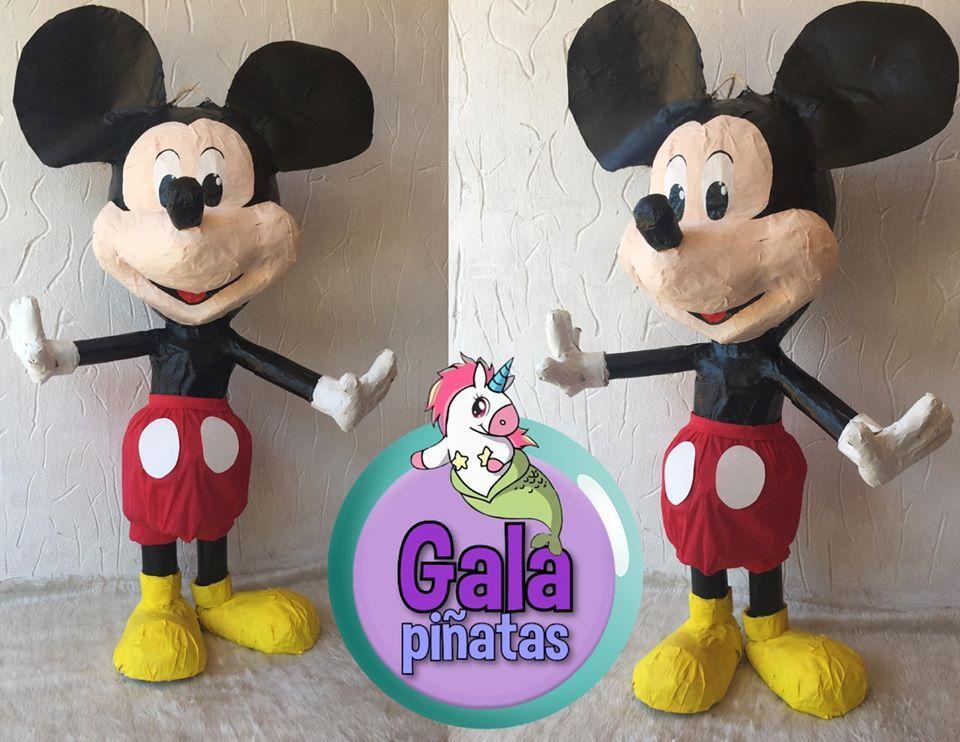 piñata mickye mouse en 2020   piñata, piñatas, pintar