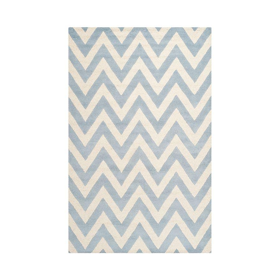 Teppich hellblau  Teppich Stella   Hellblau, Teppiche und Creme