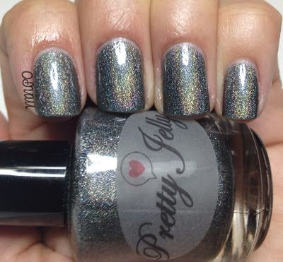 My Nail Polish Obsession: Pretty Jelly: Bullet Rogue, Diamond S-teal-er & Dream Cloud