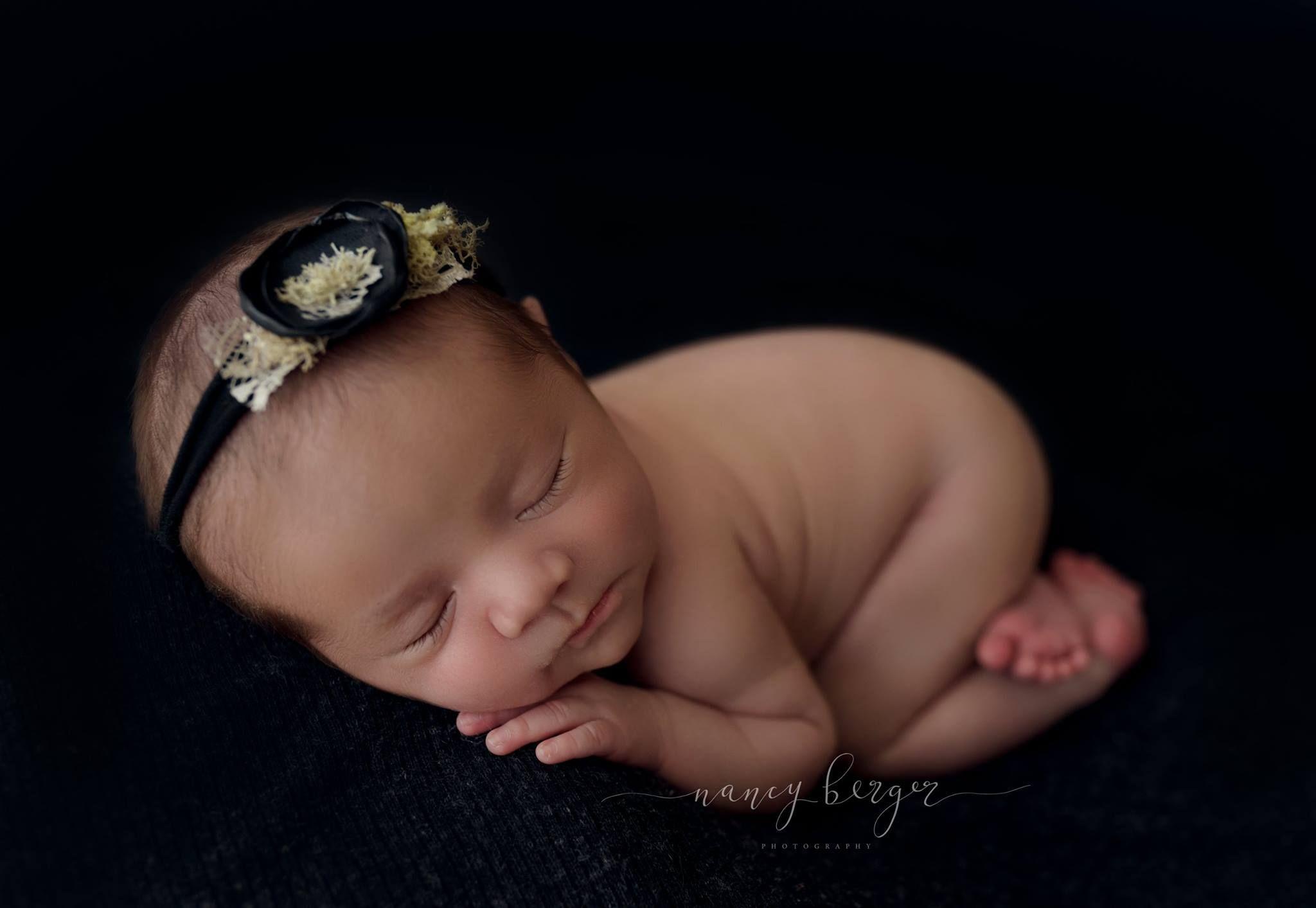 Black newborn tieback organic newborn photography newborn session newborn art newborn portraits newborn photographer organic newborn props