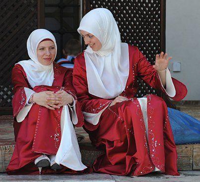 Bosnian Muslim Girls