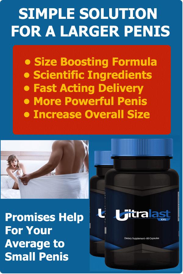 #UltraLast XXL - Simple #Solution For A Larger #Penis #ancestors