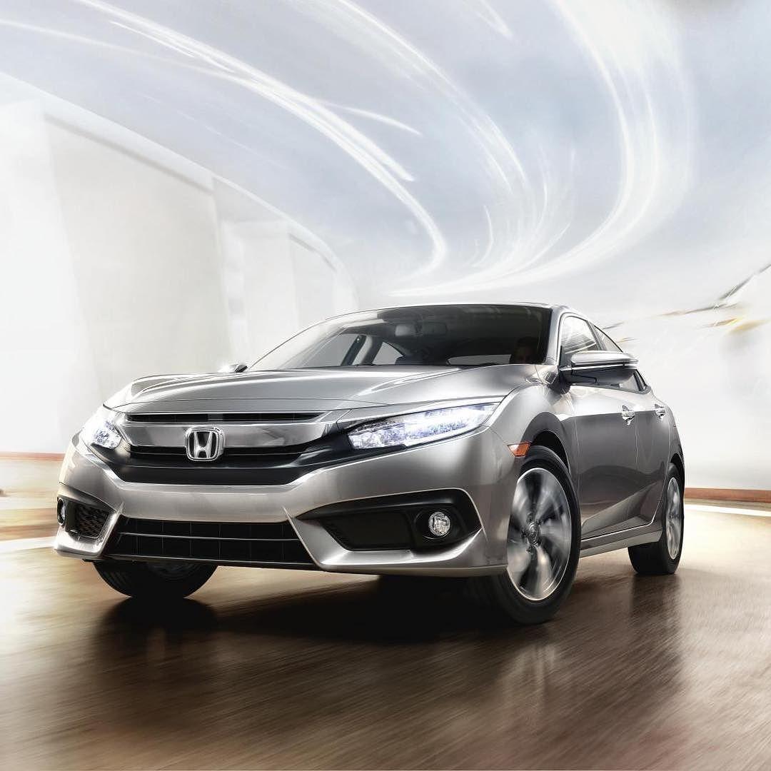 to the future! HondaCivic Honda civic 2016