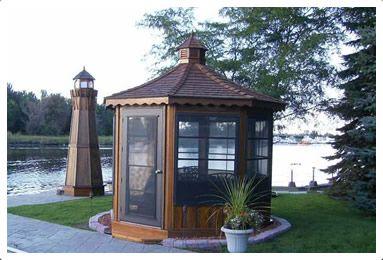 Bunkies_Studios - Bosman - Garage Kit, Sheds For Sale, Gazebo Kit, Gazebos For Sale, Garden Gazebo, Home Gazebo, Screen Gazebo, Pool Cabana, Outdoor Patio Furniture