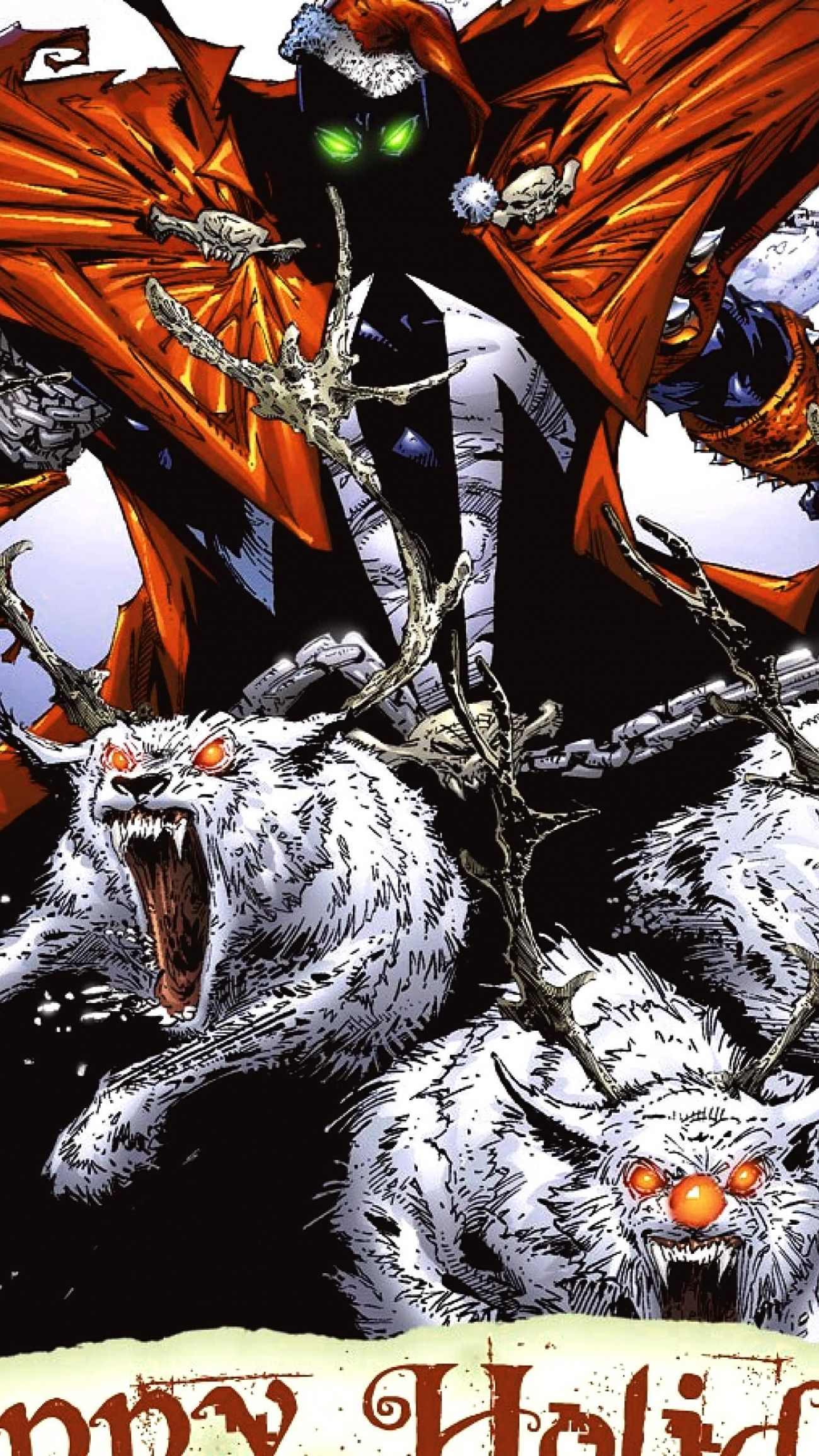 Spawn Comics Christmas Wallpaper Desktop 1600x1200 Hd
