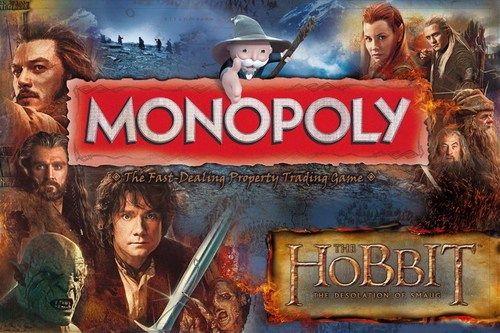 MONOPOLY THE HOBBIT *** INGLES ****
