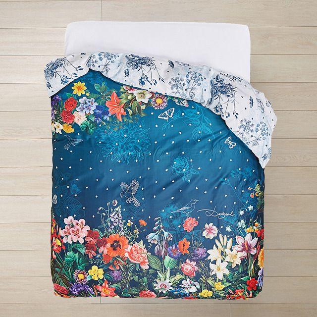 Funda nórdica Dark Floral Desigual | Cosas bonitas | Pinterest