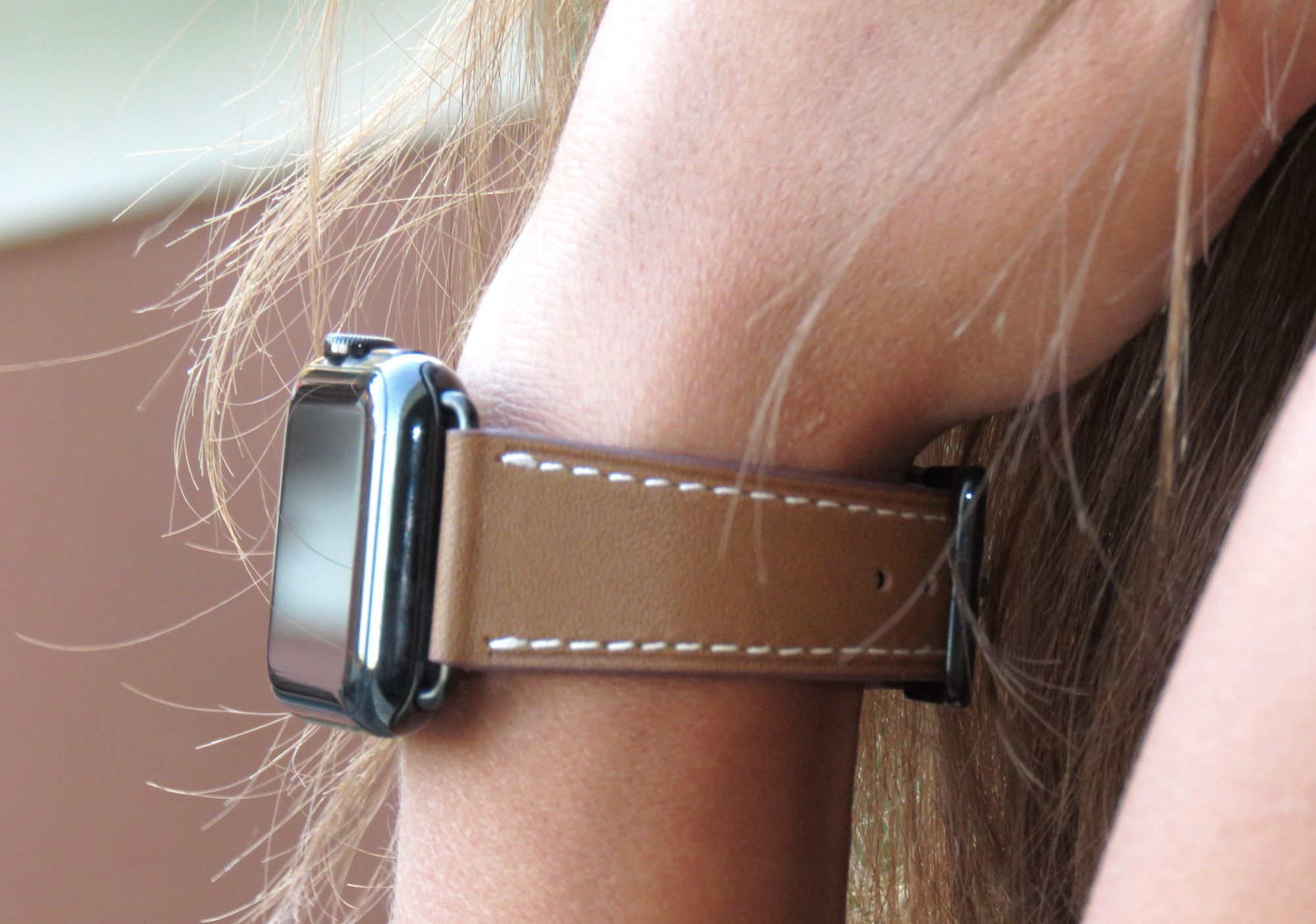 Beautiful And Classic Leather Apple Watch Band Series 1 Series 2