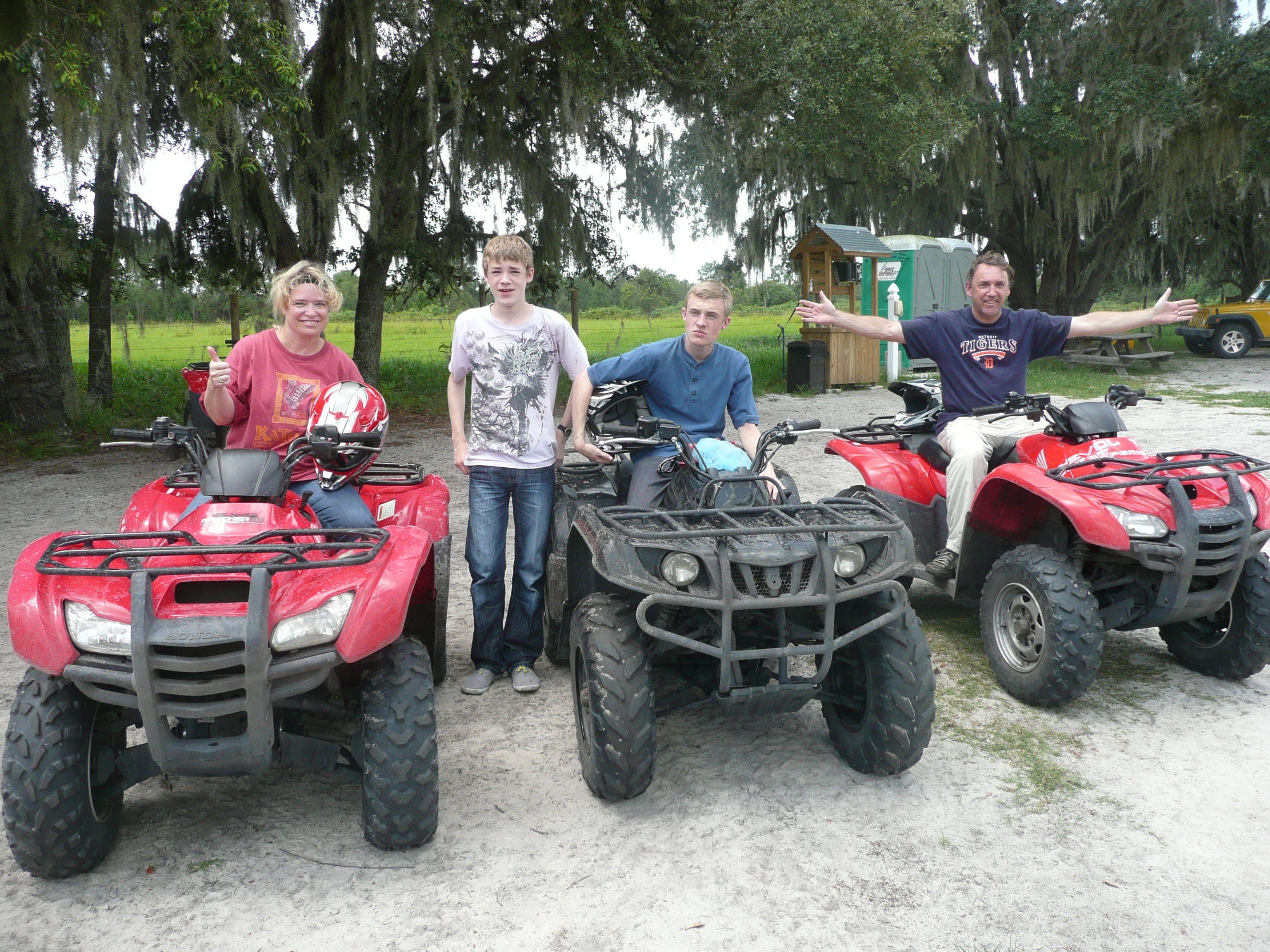 ATV dune buggy