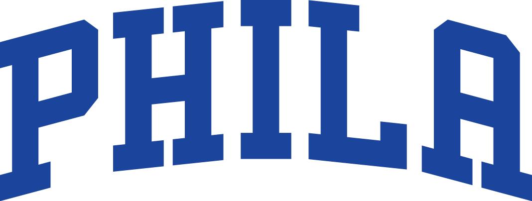 240d309d28a Philadelphia 76ers Jersey Logo 2016- Present