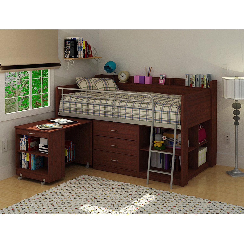 Rack Furniture Clairmont Loft Bed,Cherry Amazon also 699