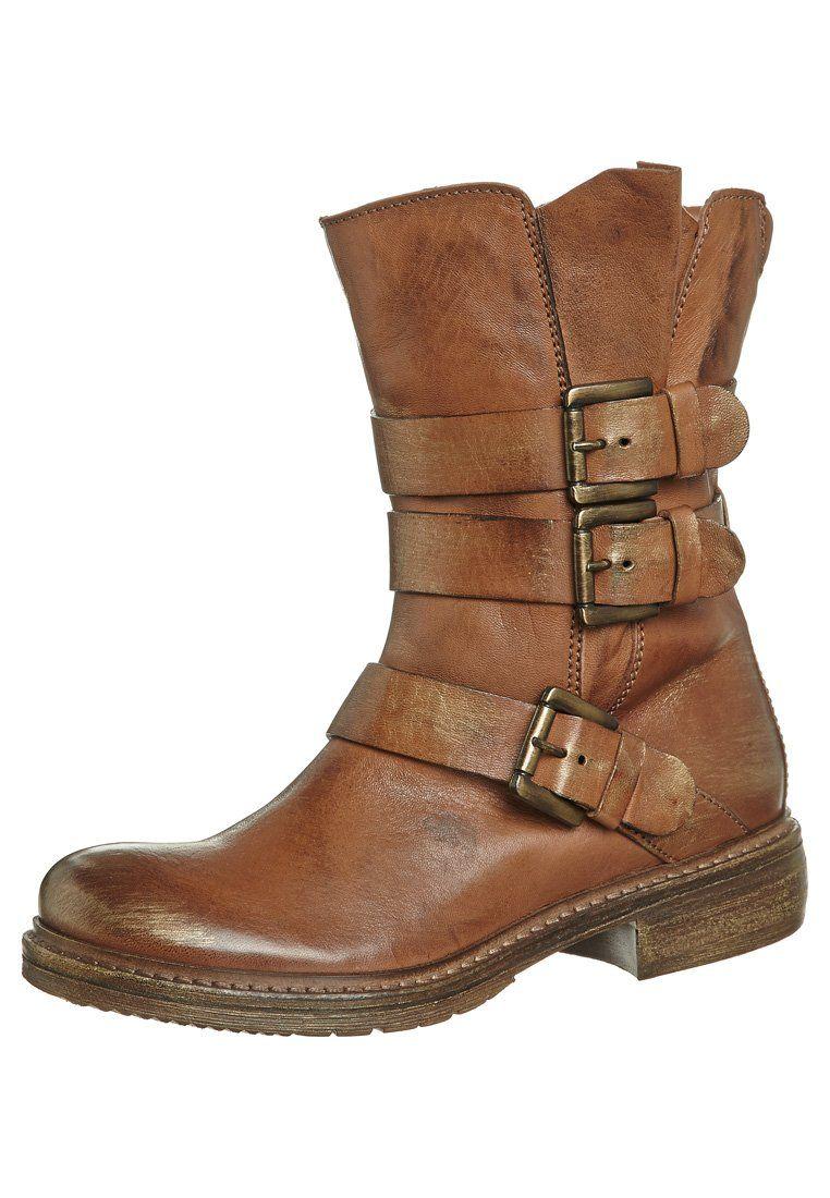 8a022eefcf3f3 Manas Design - Botines camperos - marrón