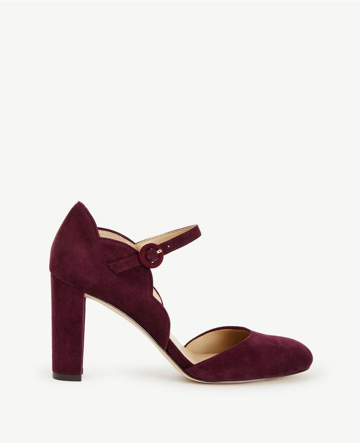 ALISSA SUEDE MARY JANE PUMPS Ann Taylor https://api.shopstyle.com/action/apiVisitRetailer?id=601658301&pid=uid3481-23865059-61