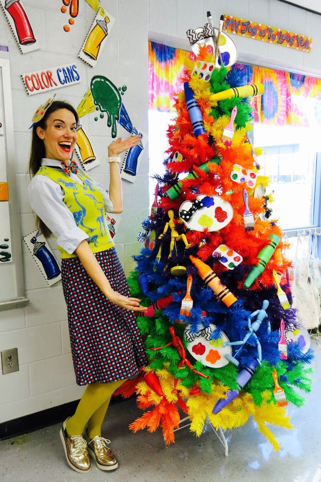 An elementary art teacher blog with art projects and