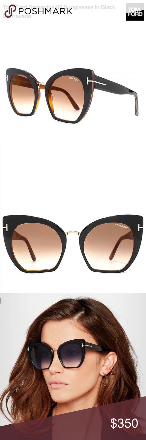 c8b4a6d92627 TOM FORD FT0553 SAMANTHA Cat Eye Sunglasses TOM FORD Authentic Glamorous  Samantha Sunglasses  445+tax