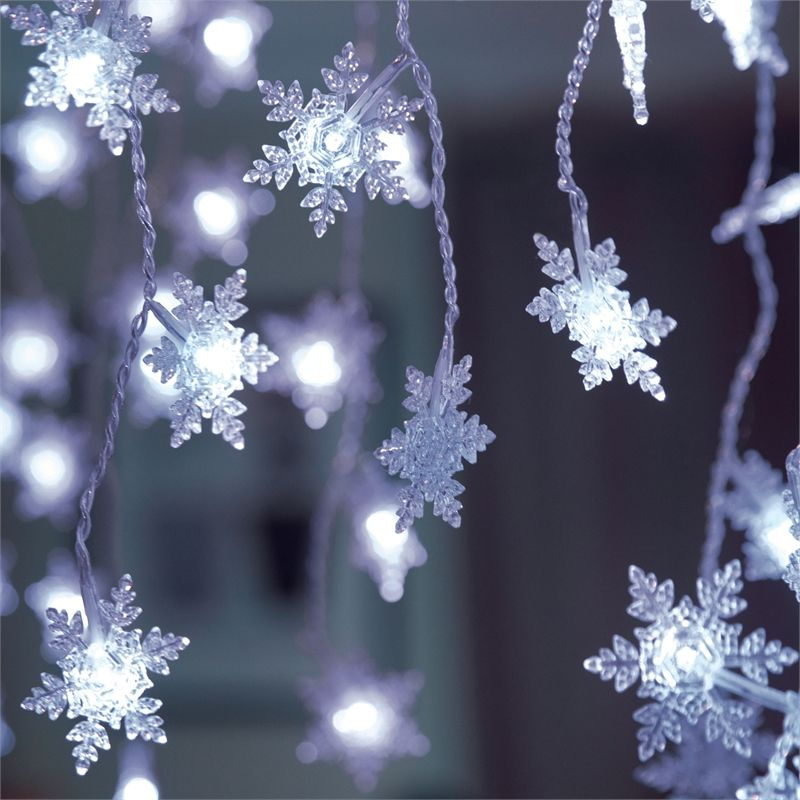 Find Lytworx 180 Led Snowflake White Festive Icicle Lights At Bunnings Warehouse Visit Your Local Store For Icicle Lights Frozen Bedroom Christmas Decorations
