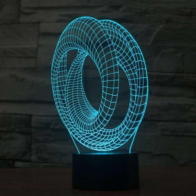 Roller Coaster 3d Illusion Lamp 3d Led Lamp Led Lamp Mood Lamps