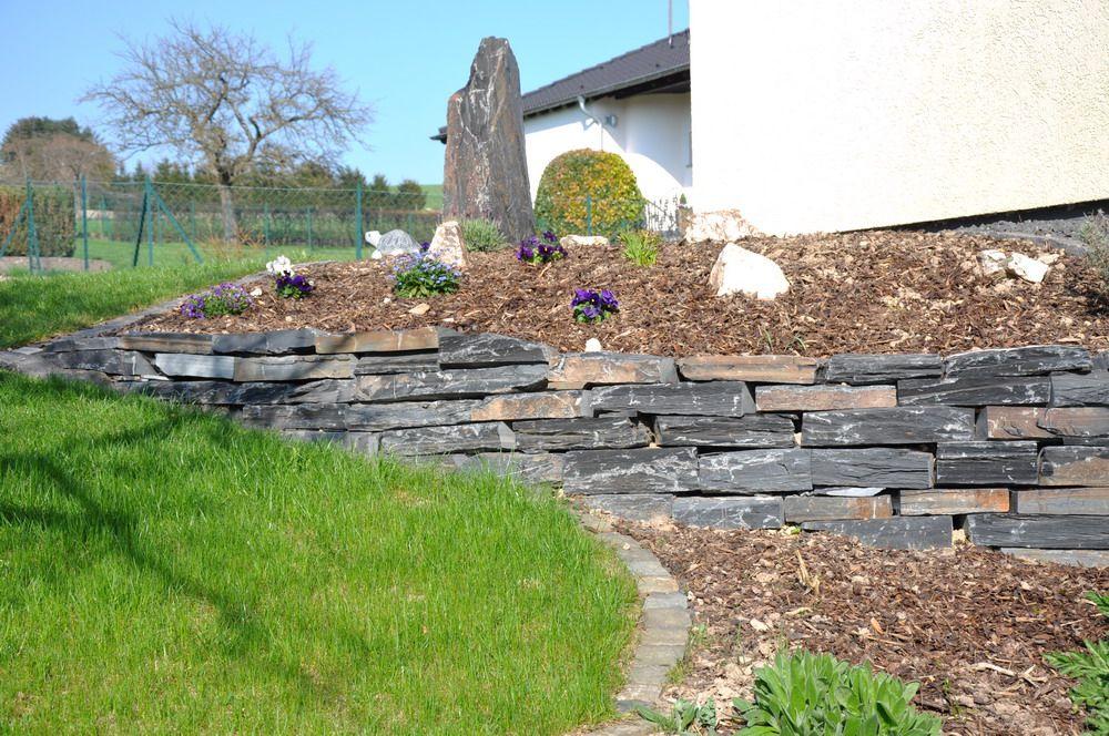 Garten ▫ Terrasse ▫ Außengestaltung ▫ Mauer ▫ Trockenmauer - garten mit natursteinen gestalten