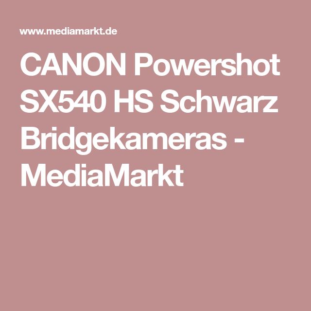 canon powershot sx540 hs bridgekamera schwarz, 20.3 megapixel, 50x