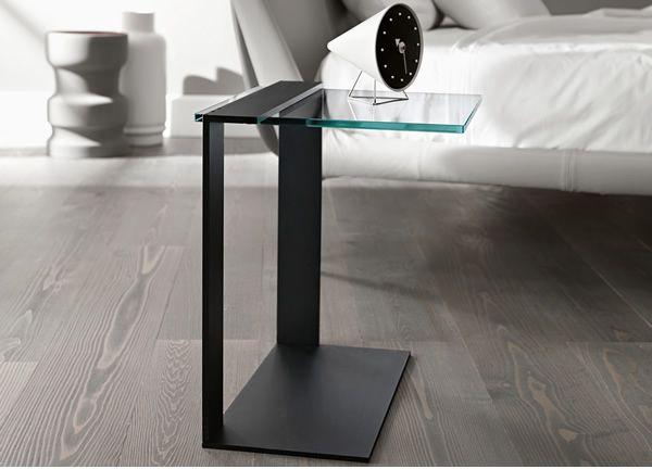 joliet glass side tables » cool glass side tables and end tables ... - Glastisch Design Karim Rashid Tonelli