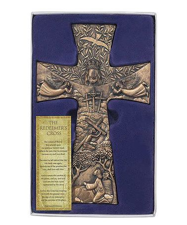 Look what I found on #zulily! 'The Redeemer's' Wall Cross #zulilyfinds