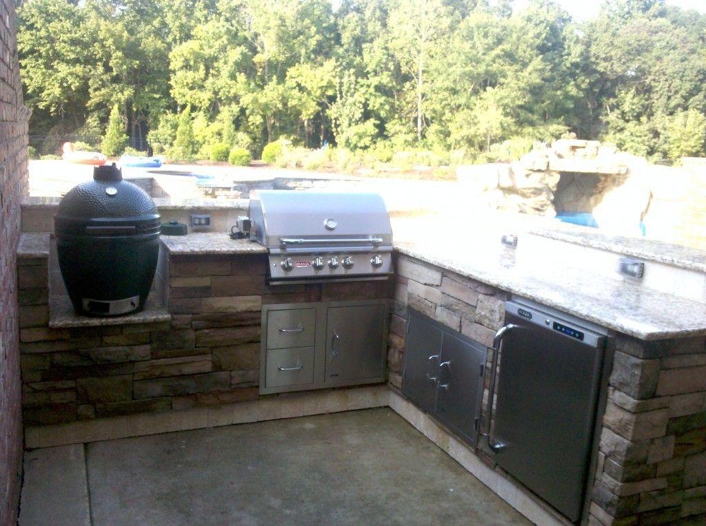 Green Egg Built In Outdoor Kitchen Ideas Outdoor Kitchen Design Outdoor Kitchen Bars Outdoor Kitchen Plans