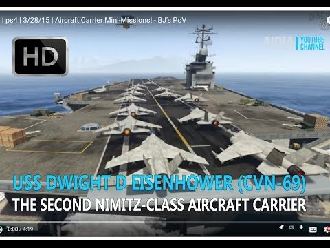 Uss dwight d eisenhower cvn 69 the second nimitz class aircraft uss dwight d eisenhower the second nimitz class aircraft carrier find this pin and more on us military sciox Gallery