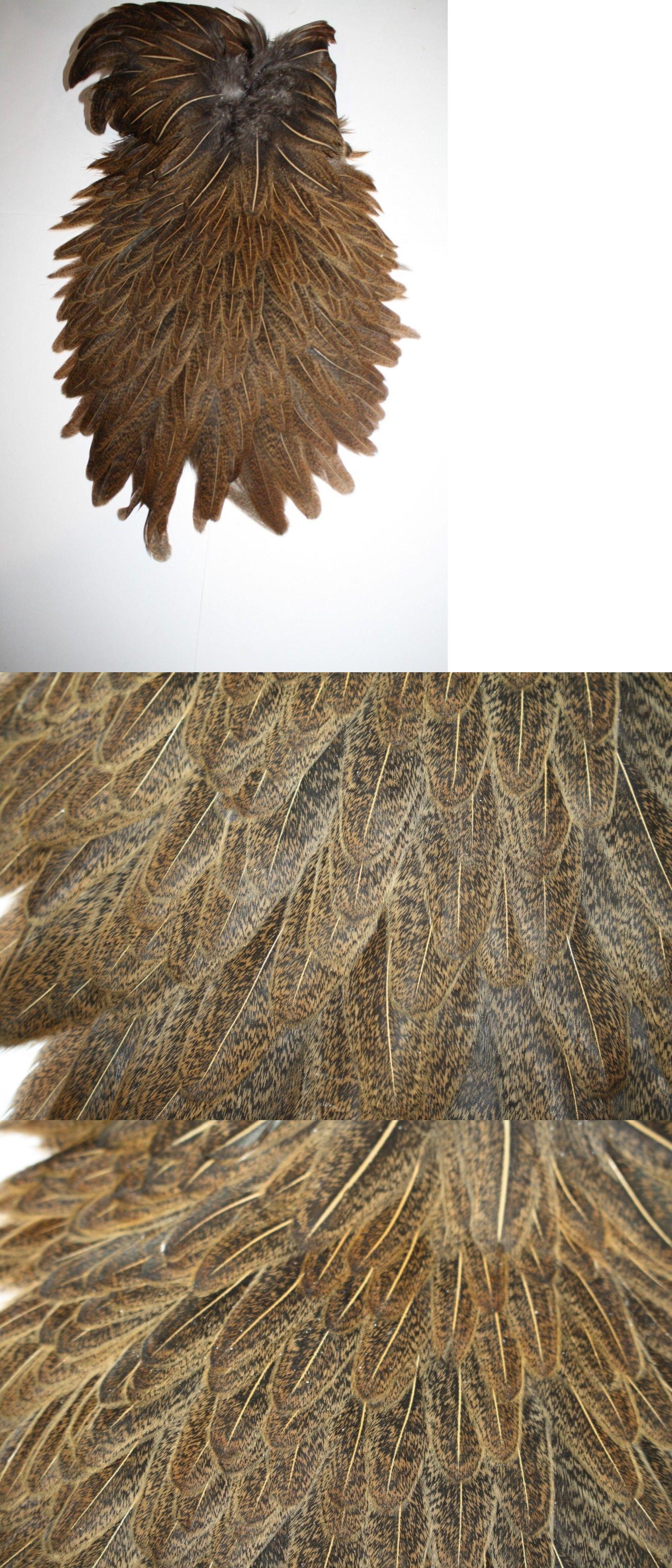 Angelsport-Fliegen-Bindematerialien Angelsport-Köder, -Futtermittel & -Fliegen Fly Tying Whiting Silver Rooster Saddle White dyed Dark Olive #A
