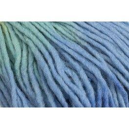 Blue Green Ocean Thick Easy Rainbow Wool Yarn Chunky 100 Wool