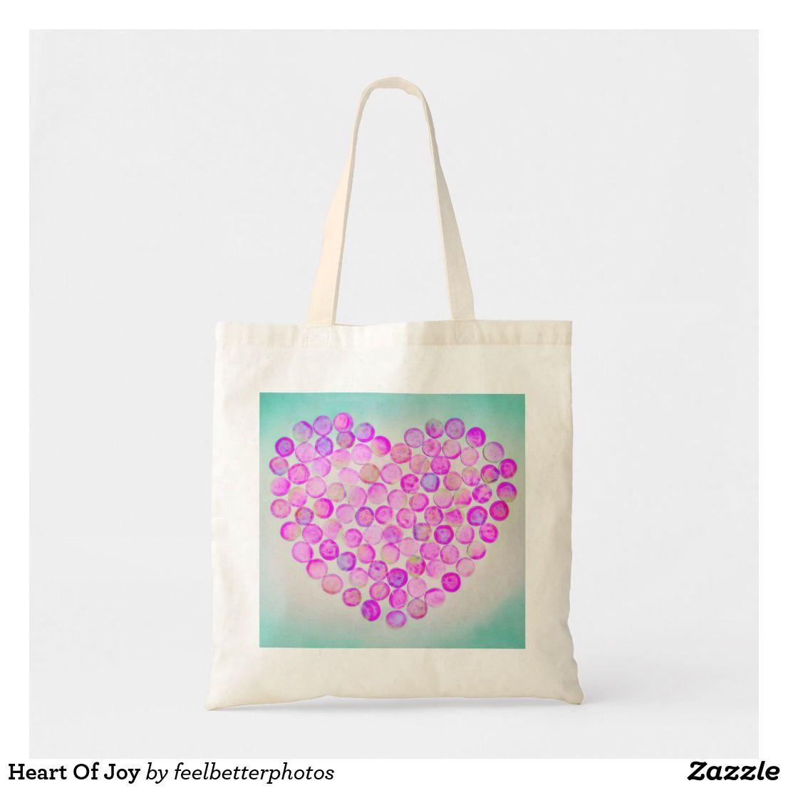 Heart Of Joy Tote Bag | Zazzle com in 2019 | Unique Gift