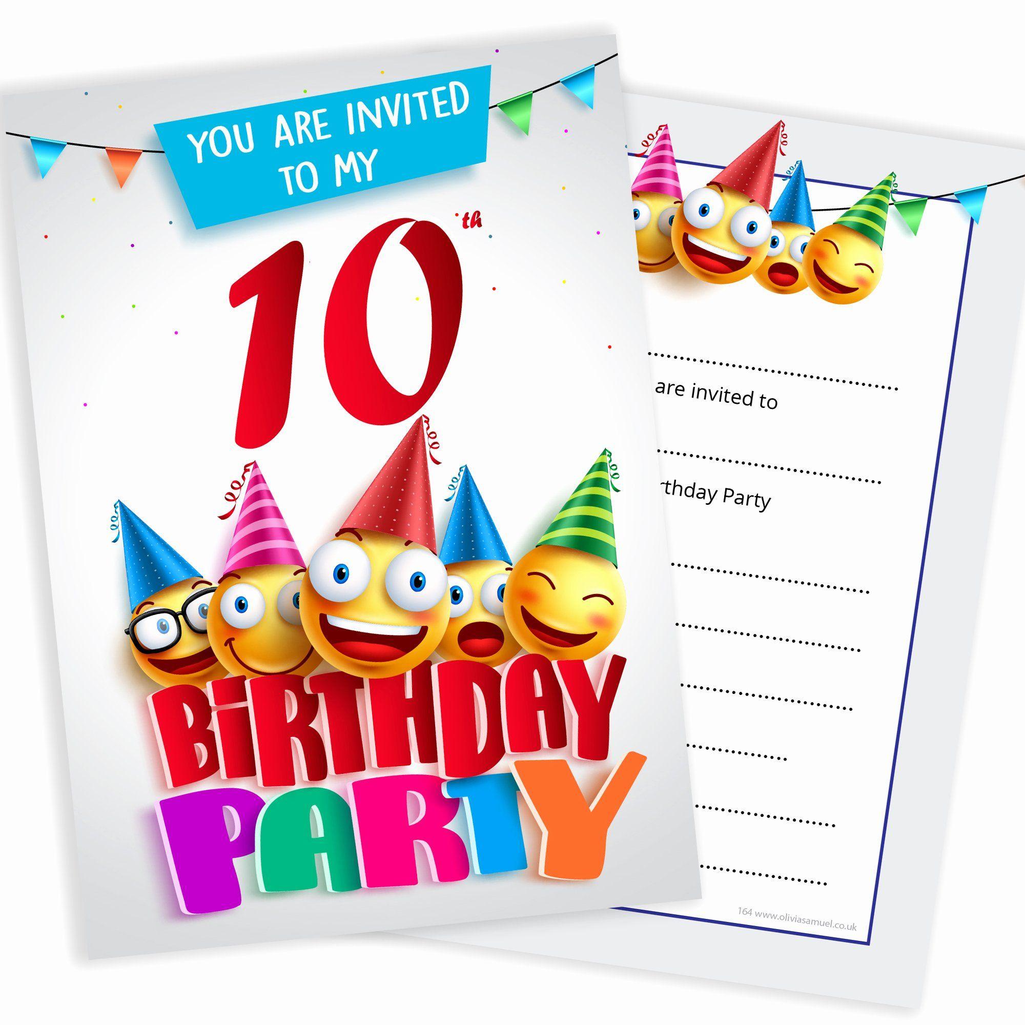 8th birthday invitation wording unique